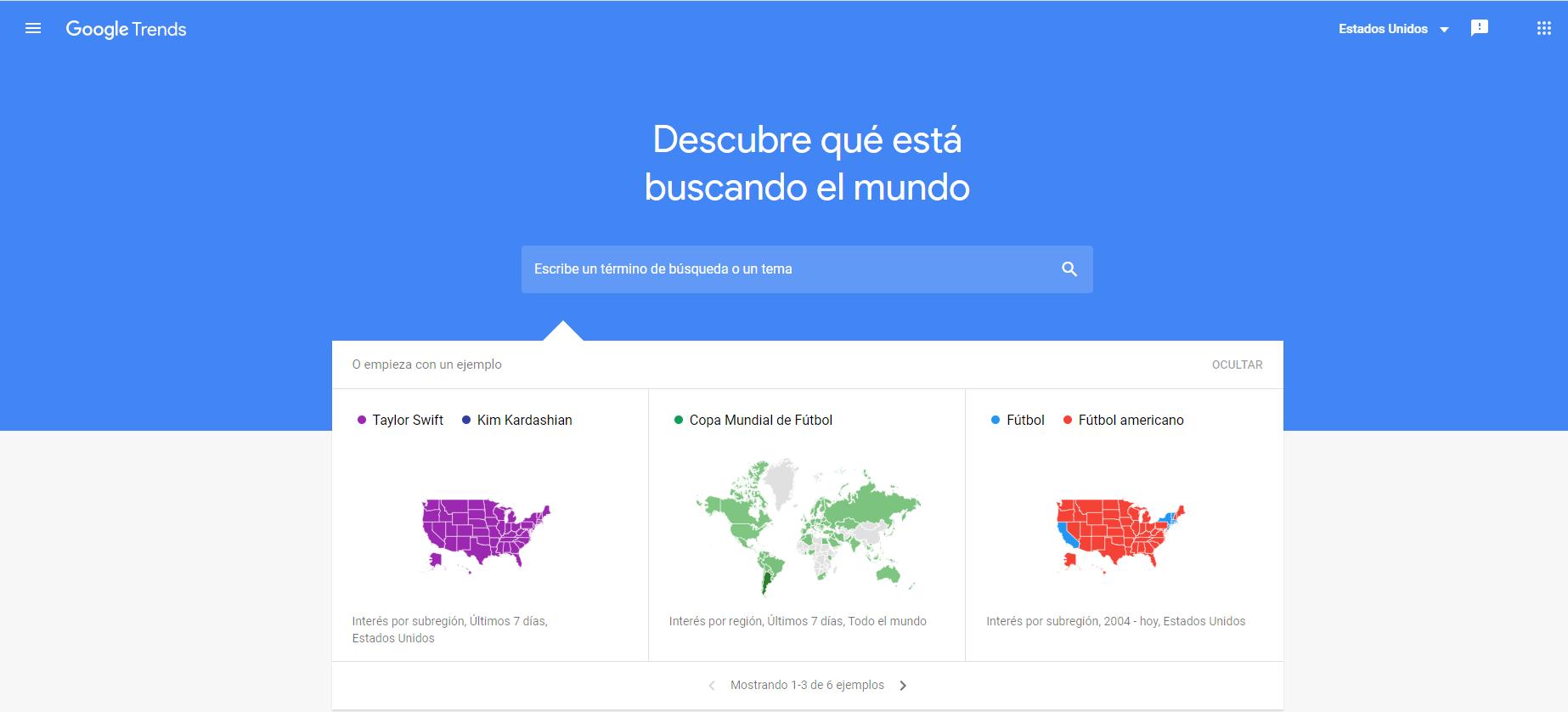 Google trends Nuthost termino de busqueda